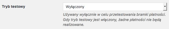 Przelewy24 WooCommerce - Sandbox