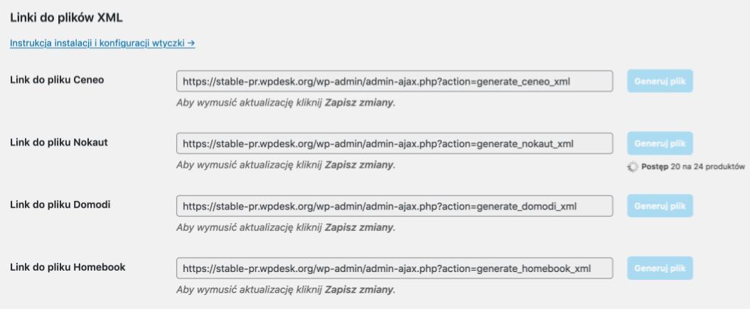 Jak utworzyć plik xml dla porównywarki