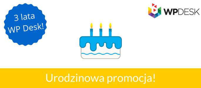 Urodzinowa promocja blog