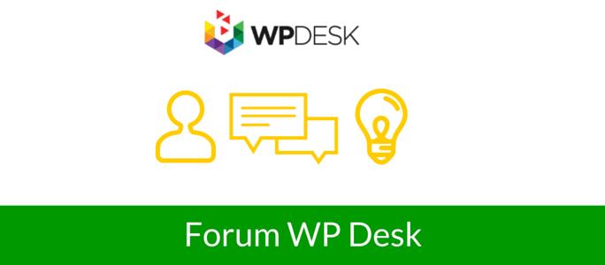 forum wpdesk blog