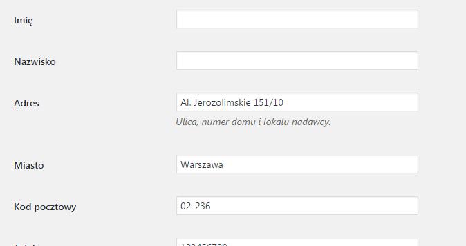 Konfiguracja inetgracji Furgonetka z WooCommerce - logowanie