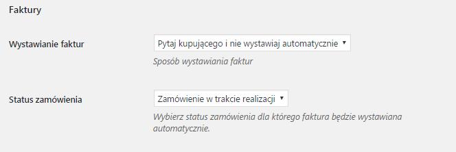 Integracja WooCommerce z inFakt - faktury