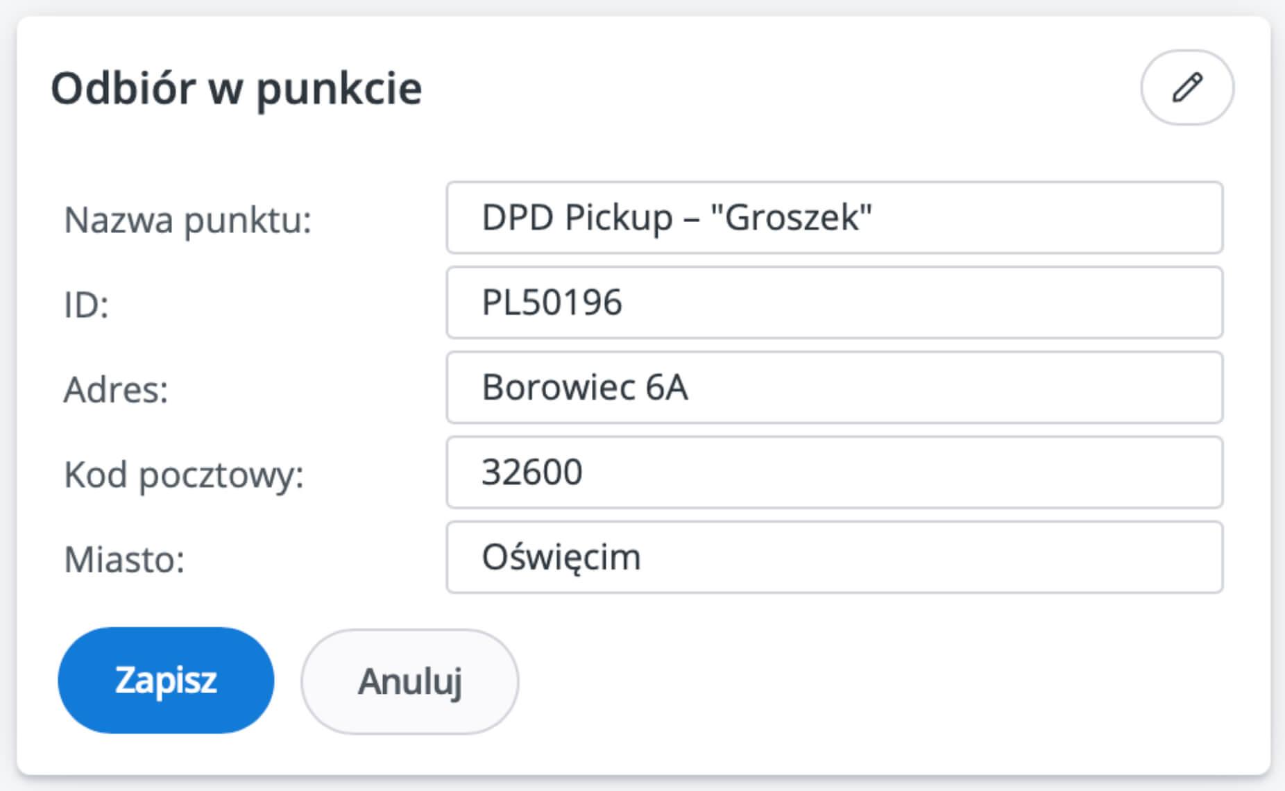 DPD WooCommerce DPD Pickup Baselinker