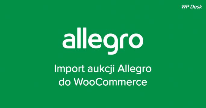 Import aukcji Allegro