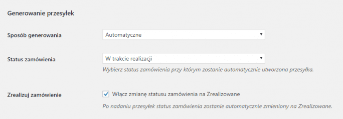 Automatyzacja wysyłki na przykładzie wtyczki InPost