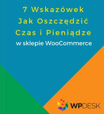 Okładka ebooka o WooCommerce