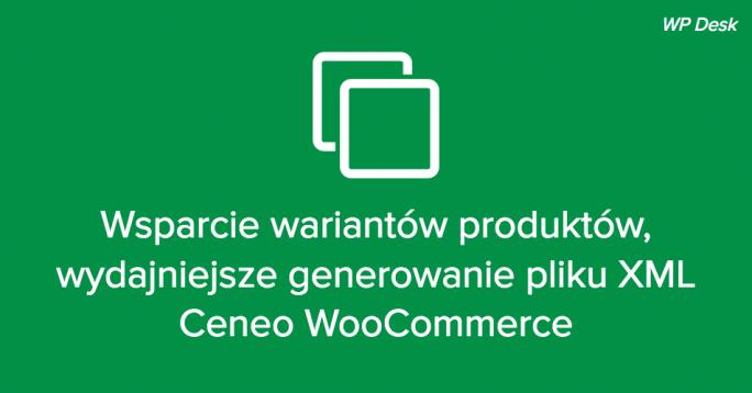 Warianty Ceneo WooCommerce