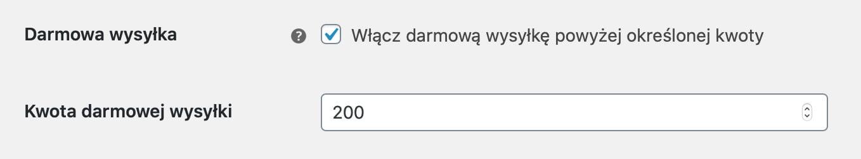 UPS WooCommerce Stawki rzeczywiste - Darmowa wysyłka