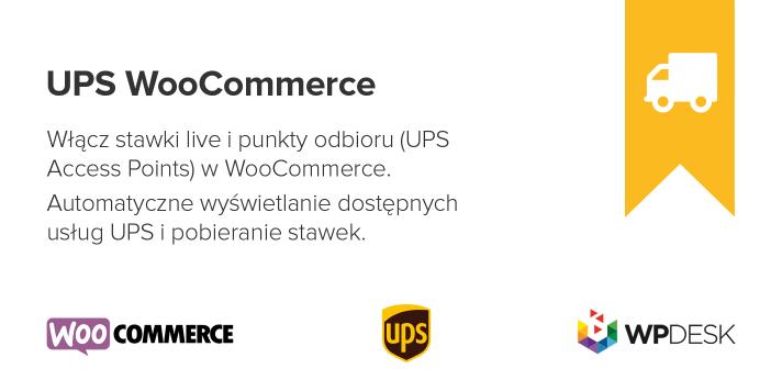 UPS WooCommerce Wtyczka