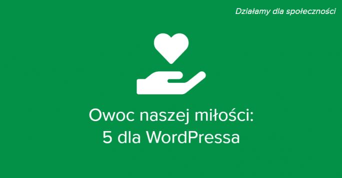 5 dla WordPressa