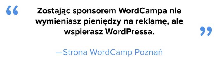 Sponsor WordCamp