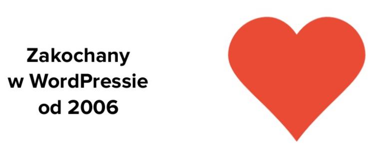 Zakochany w WordPressie - slajd