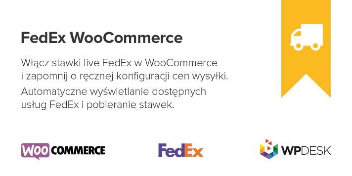 FedEx WooCommerce Wtyczka