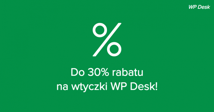 Rabat 30% WP Desk