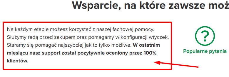 Tekst na stronie wpdesk.pl - custom css