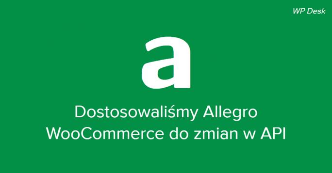 Dostosowanie Allegro WooCommerce do REST API