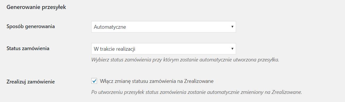 automatyczne generowanie przesyłek w eNadwacy Poczty Polskiej