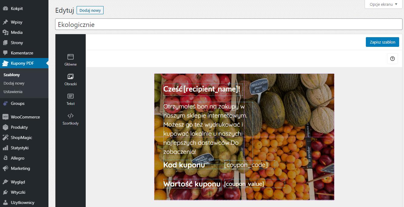 Bon na zakupy lokalne - jak stworzyć kupon prezentowy w WooCommerce