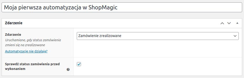 ShopMagic nowa automatyzacja