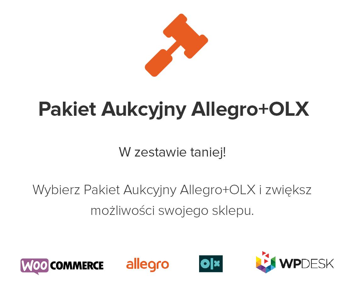 Nowy pakiet aukcyjny Allegro i OLX dla WooCommerce