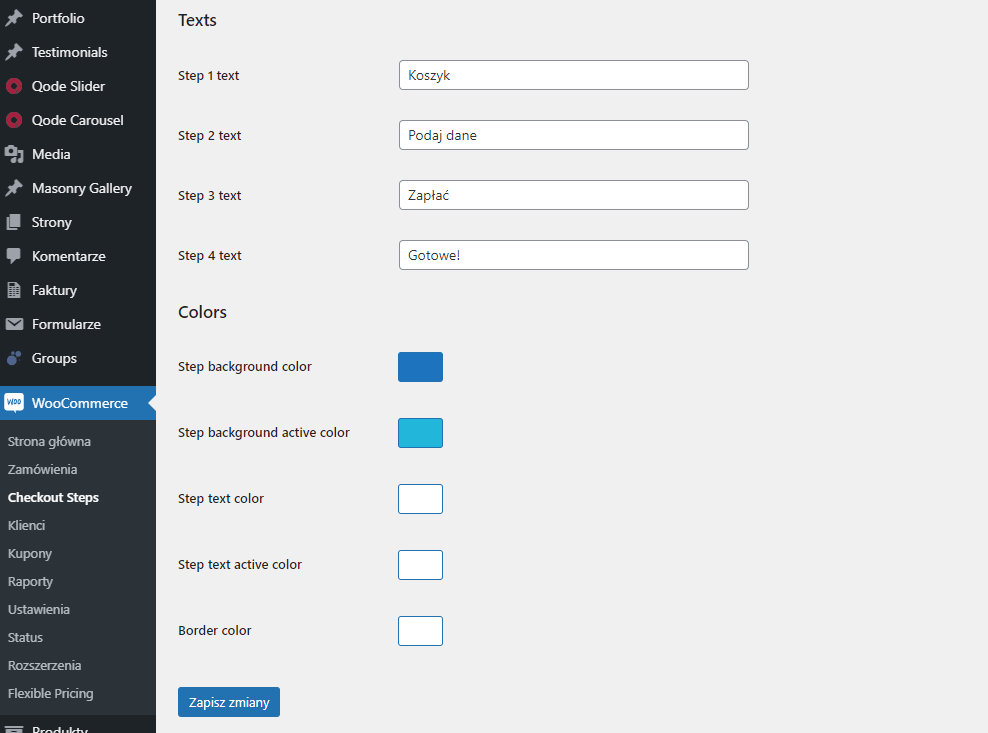 WooCommerce Checkout Steps